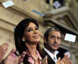 ARGENTINA-POLITICS-CONGRESS-FERNANDEZ DE KIRCHNER-COBOS