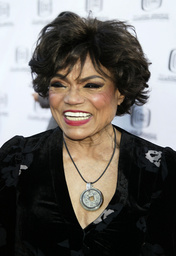 File photo of Eartha Kitt arriving for a taping of the second annual TV Land Awards in Hollywood