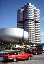 Headquarters of the vehicle manufacturer BMW