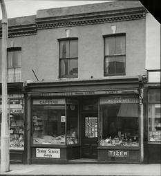 Sweet Shop In Silverthorne Road Battersea London.