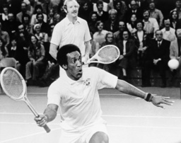 Watchf Associated Press Sports Tennis Connecticut United States APHS59929 BILL COSBY - EXHIBITION TENNIS