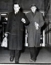 (l-r) Louis Kirby And Reginald Foster Of The Daily Sketch Newspaper.