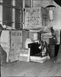 A Book On Common Law Plus Other Removals From The Property Of Ted Heath Are Loaded On To The Removal Van As He Vacates No 10 Downing Street