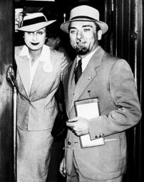 Dino Grandi with his wife, 1936