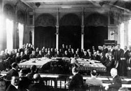 Spring session of the League of Nations chaired by German Foreign Minister Stresemann, 1927