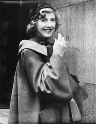 Actress Dorothy Ward