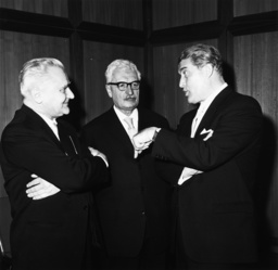 Wernher v. Braun u. Hermann Oberth, 196 - Wernher von Braun and Hermann Oberth / 196 -