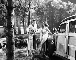 1947 - They Won't Believe Me - Movie Set