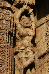 Konarak, Sonnentempel, Apsara / Relief - - Konarak, temple du Soleil, Apsara / Relief