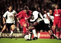 Soccer - FA Barclaycard Premiership - Liverpool v Fulham