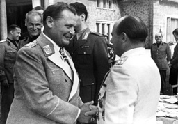 Goering and Udet in a conversation