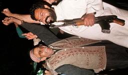 PAKISTAN MUSLIM LEAGUE ACTIVISTS CELEBRAT IN LAHORE