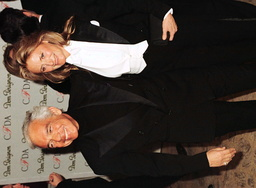 DESIGNER RALPH LAUREN AND HIS WIFE ATTEND THE CFDA FASHION AWARDS