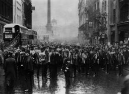 England 1932, Demonstrationen / Foto - England 1932 / Demonstration / Photo -