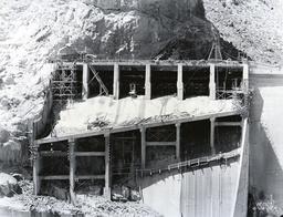 Horse Mesa Dam / Foto 1937 - Horse Mesa Dam / Photo / 1937 -
