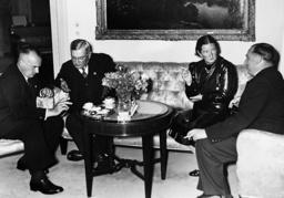 Hans Frank and Franz Guertner, 1938