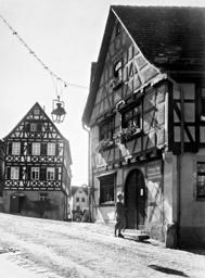 Friedrich von Schiller's birthplace in Marbach, 1934