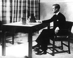 Edward VIII during a radio address, 1936