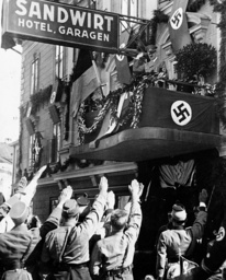 Hitler in Klagenfurt 1938