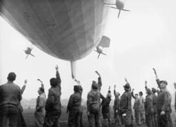 'Hindenburg' makes its first test flight, 1936