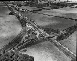 Law Crime Robbery 1963 'great Train Robbery' Showing Aerial View Of Where The Train Was Robbed From The Sears Crossing To Cheddington Station The Great Train Robbery Is The Name Given To A 2.6 Million Train Robbery (the Equivalent Of Around 40 Mill