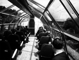 New 'Rheingold' express of German Bundesbahn