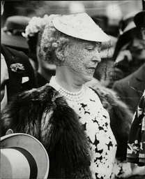 Actress Lady Mendl Wife Of Sir Charles Mendl At St Margaret's For A Wedding Elsie De Wolfe Also Known As Lady Mendl (december 20 1865? Oo July 12 1950) Was An American Actress Interior Decorator Nominal Author Of The Influential 1913 Book The House