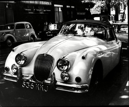 Jaguar Motor Car Belonging To Dr Stephen Ward.