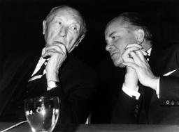 Adenauer at Landtag campaign