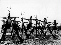Mussolini's Fascist Youth training camp