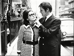 Roger Moore And Italian Actress Luisa Mattioli. He Married Her In 1969 And Divorced Her In 1993 They Had Two Children