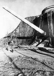 German battery at the Atlantic Wall, 1943
