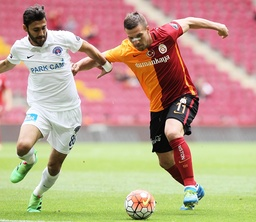 Turkey superlig matc between Galatasaray and Kasimpasa at Turk Telekom Arena in Istanbul Turkey