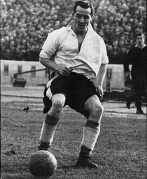 Footballer Jackie Sewell Of Sheffield Wednesday Fc.