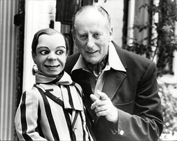 Peter Brough Ventriloquist (dead June 1999) And Archie Andrews Puppet.