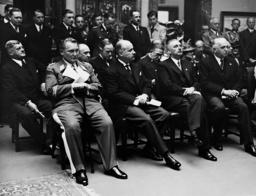 Hermann Goering, Andre Francois-Poncet, Bernhard Rust and Konstantin Freiherr von Neurath, 1937