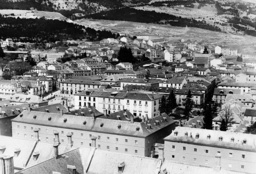 View from the monastery of El Escorial, 1931