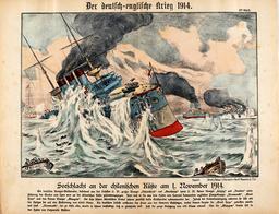 1.Weltkrieg,Seeschlacht bei Santa Maria. - -