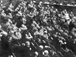 Members of the NSDAP in the Reichstag, 1930
