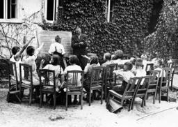 Open air class, 1937