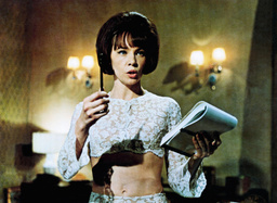 PROMISE HER ANYTHING, Leslie Caron, 1965