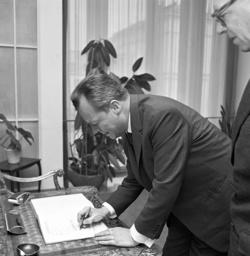 Willy Brandt in Bonn