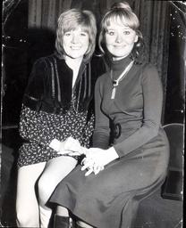 Cilla Black - 1970 Cilla Black And Lulu At Today's Disc Valentine Awards.