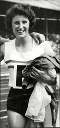 Athlete Runner Dorothy Hyman In Action At White City Dorothy Hyman (born 9 May 1941 In Cudworth Barnsley Yorkshire) Is A British Athlete Who Competed Mainly In The 100 Metres. She Competed For Great Britain In The 1960 Summer Olympics Held In Rome It