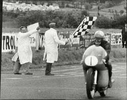 Mike Hailwood (dead March 1981) Motor Cycle Racing Driver.