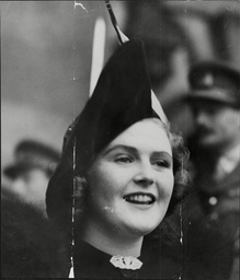 Mrs Pamela Churchill (nee Pamela Digby) Wife Of Politician Randolph Churchill On Their Wedding Day Randolph Frederick Edward Spencer-churchill Mbe (28 May 1911 A 6 June 1968) Was The Son Of British Prime Minister Winston Churchill And His Wife Clemen