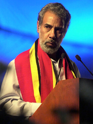 EAST TIMORESE PRESIDENT GUSMAO DECLARES INDEPENDENCE IN INAUGURAL ADDRESS