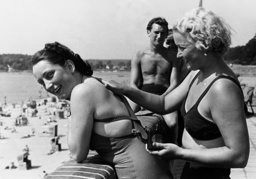 Wannsee lido, 1938