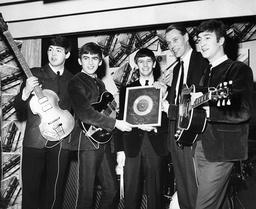 English Rock Band The Beatles 1960 - 1970