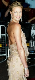 US ACTRESS THERON ARRIVES AT PREMIERE OF THE ITALIAN JOB IN LONDON